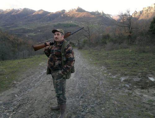 Sono pronto per firmare per la chiusura della caccia…!