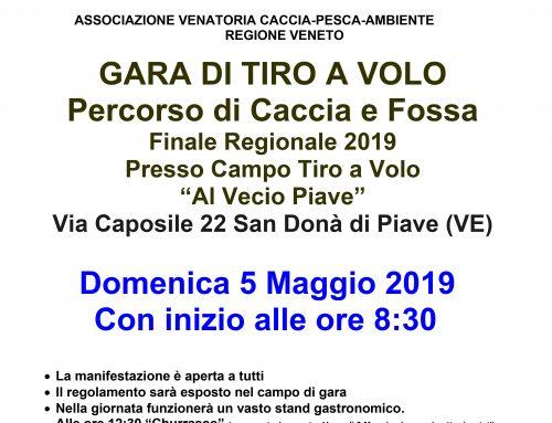 Finale Regionale Di Tiro A Volo 2019 Veneto – 5 Maggio 2019
