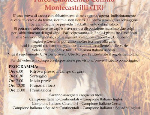 FINALE 10° CAMPIONATO ITALIANO FERMA – TERNI 23/06/2019