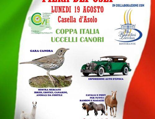 FIERA DEI OSEI – 19/08/2019 – CASELLA D'ASOLO (TV)
